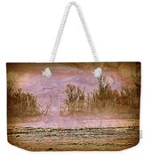 Fog Abstract 3 Weekender Tote Bag by Marty Koch