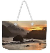 Fog And Fire Weekender Tote Bag by Adam Jewell