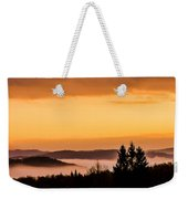 Fog Below Weekender Tote Bag
