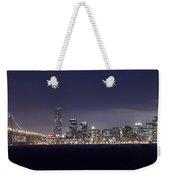 Fog City San Francisco Weekender Tote Bag