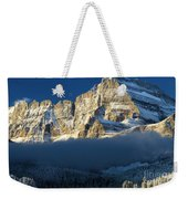 Fog In The Middle Weekender Tote Bag