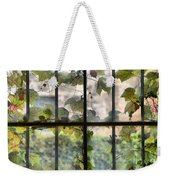 Fog Ivy And Plate Glass Weekender Tote Bag