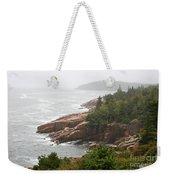 Fog Over The Sea  Weekender Tote Bag