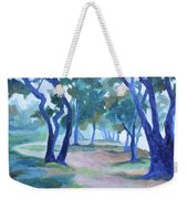 Fog Under The Oaks Weekender Tote Bag