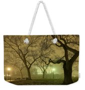 Foggy Approach To The Lincoln Memorial Weekender Tote Bag