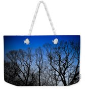Foggy Blue Morning Weekender Tote Bag