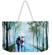 Foggy Day New Weekender Tote Bag by Leonid Afremov