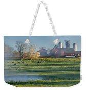 Foggy Farm Morning Weekender Tote Bag