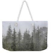 Foggy Forest Retro Series. Weekender Tote Bag