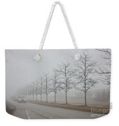 Foggy January Weekender Tote Bag