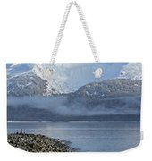 Foggy Mountain Beyond Weekender Tote Bag