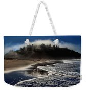 Foggy Pacific Reflections Weekender Tote Bag