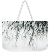 Foggy Reflection Weekender Tote Bag