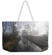 Foggy River Weekender Tote Bag