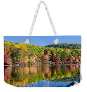 Foilage In The Fall Weekender Tote Bag