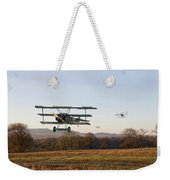 Fokker Dr1 - Day's End Weekender Tote Bag by Pat Speirs