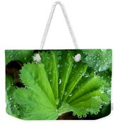 Folded Rain Weekender Tote Bag