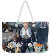 Folies Bergere Revisited Weekender Tote Bag by Tom Roderick
