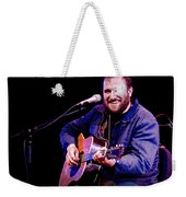 Folk Musician David Bazan In Concert Weekender Tote Bag