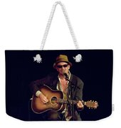 Folk Singer Greg Brown Weekender Tote Bag