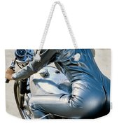 Follow Me If You Can Weekender Tote Bag