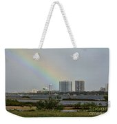 Follow That Rainbow Weekender Tote Bag