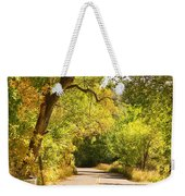 Follow The Yellow Lines Weekender Tote Bag