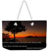 Follow Your Heart Weekender Tote Bag