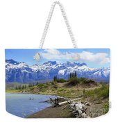 Following The Athabasca River Weekender Tote Bag