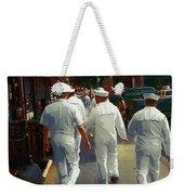 Following The Fleet Weekender Tote Bag