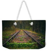 Following The Tracks Weekender Tote Bag