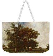 Fontainebleau Oak Weekender Tote Bag