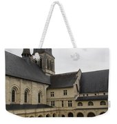 Fontevraud Abbey Courtyard -  France Weekender Tote Bag