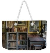 Fonthill Castle Saloon Weekender Tote Bag by Susan Candelario
