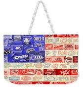 Food Advertising Flag Weekender Tote Bag