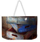 Food - Beverage - Pepsi-cola Boxes  Weekender Tote Bag