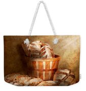 Food - Bread - Your Daily Bread Weekender Tote Bag by Mike Savad