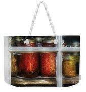 Food - Country Preserves  Weekender Tote Bag by Mike Savad
