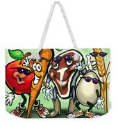 Food Groups Party Weekender Tote Bag