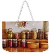 Food - I Love Preserving Things Weekender Tote Bag by Mike Savad