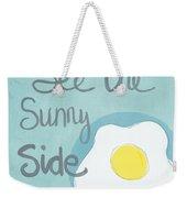 Food- Kitchen Art- Eggs- Sunny Side Up Weekender Tote Bag