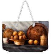 Food - Lemons - Winter Spice  Weekender Tote Bag by Mike Savad