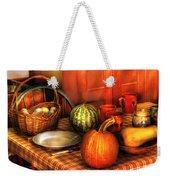 Food - Nature's Bounty Weekender Tote Bag by Mike Savad