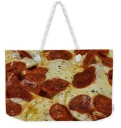 Food - Pepperoni Pizza Weekender Tote Bag