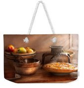 Food - Pie - Mama's Peach Pie Weekender Tote Bag