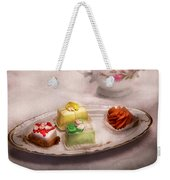 Food - Sweet - Cake - Grandma's Treats  Weekender Tote Bag