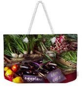 Food - Vegetables - Very Fresh Produce  Weekender Tote Bag