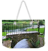 Foot Bridge At Inistioge Weekender Tote Bag