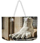 Foot Of Constantine Weekender Tote Bag