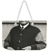 Football Coach Alonzo Stagg Weekender Tote Bag